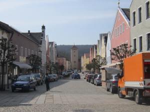 Going Baroque in Kelheim.