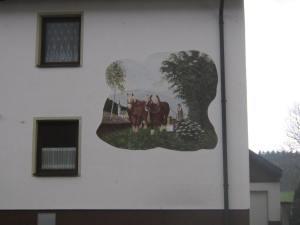 Bavarian house art