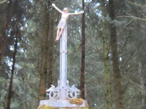 Jesus goes bungee jumping