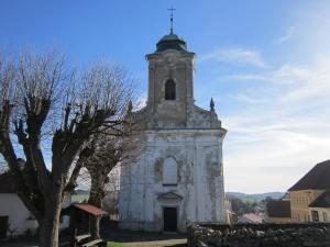 Planice church (Kostel svatého Blažeje).
