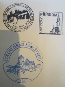 Pribram Pilgrim Stamp