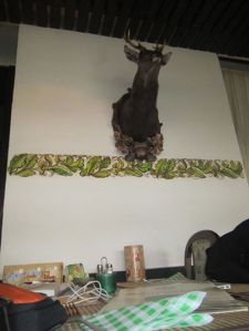 Deers head in Pribram restaurant