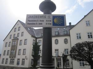 Regensburg on Jakobsweg