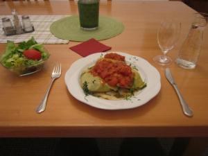 Dinner at Kloster Weltenburg