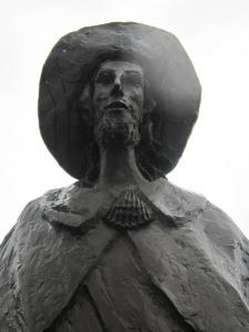 Pilgrim statue at Eschlkam.