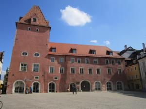 Regensburg's old town quarter