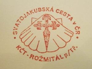 Pilgrim stamp at Rozmital