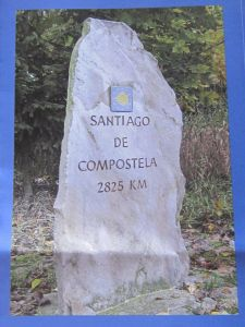 Santiago De Compostela 2,825km