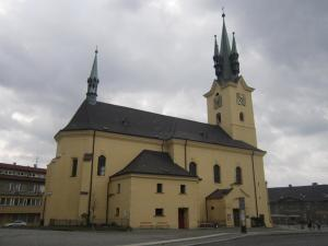 St.Jakub's church at Pribram (Church of St. James)