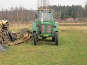 Czech tractor