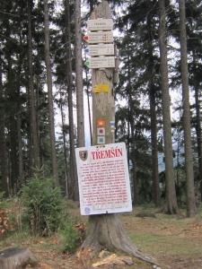 Tremsin, near Rozmital Czech Republic