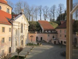 Church at Kloster Weltenburg