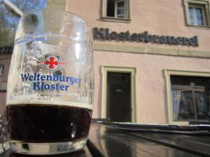 Dark beer at Kloster Weltenburg