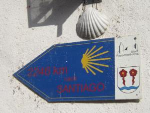 2,246km to Santiago from Rapperswil