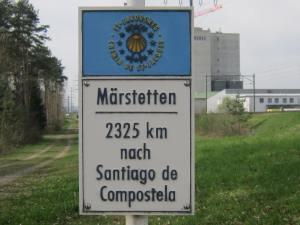 2,325km to Santiago
