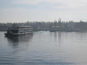 Catamaran to Konstanz from Meersburg