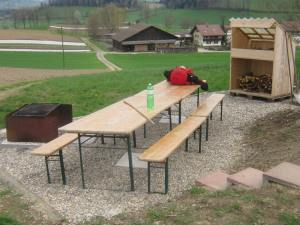Swiss outdoor barbecue
