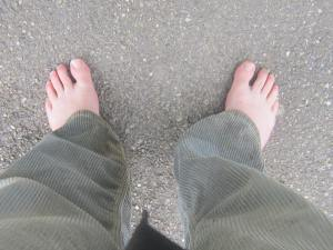 Barefoot-pilgrim