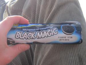 Black Magic: My guilty Camino picnic secret :-)
