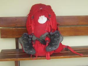 Camino-Santiago-wet-boots