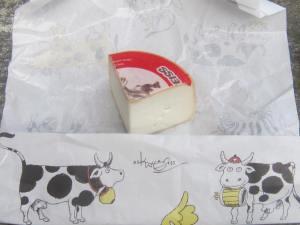 Cheese from Geiss, Switzerland