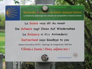 Goodbye Switzerland