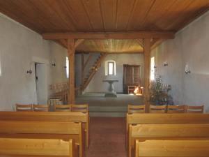 inside Schwarzenburg chapel