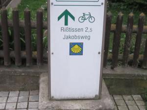 Risstissen Jakobsweg