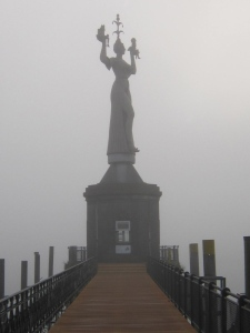 "The statue refers to a short story by Balzac, ""La belle Impéria""."