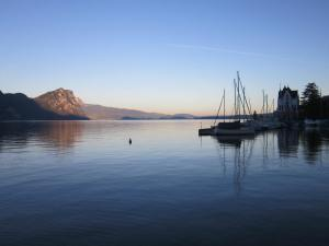 Sunrise over Lake Lucerne