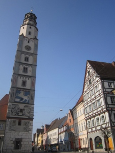 Lauingen is an exceptionally beautiful town on the way to Ulm.
