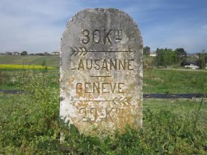 Lausanne to Geneva