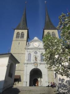 Hofkirche St. Leodegar in Lucerne