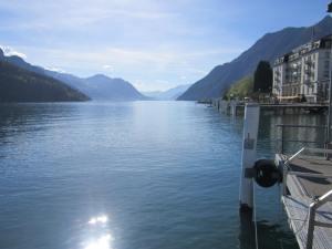 Jakobsweg Lake Lucerne