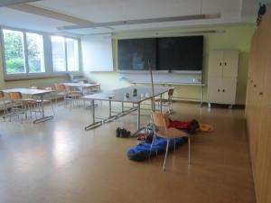 Sleeping in Burgdorf