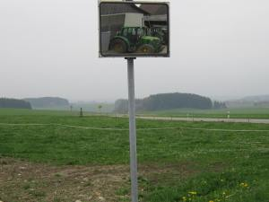 southern Swabia countryside