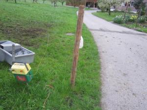 Swiss electric fences