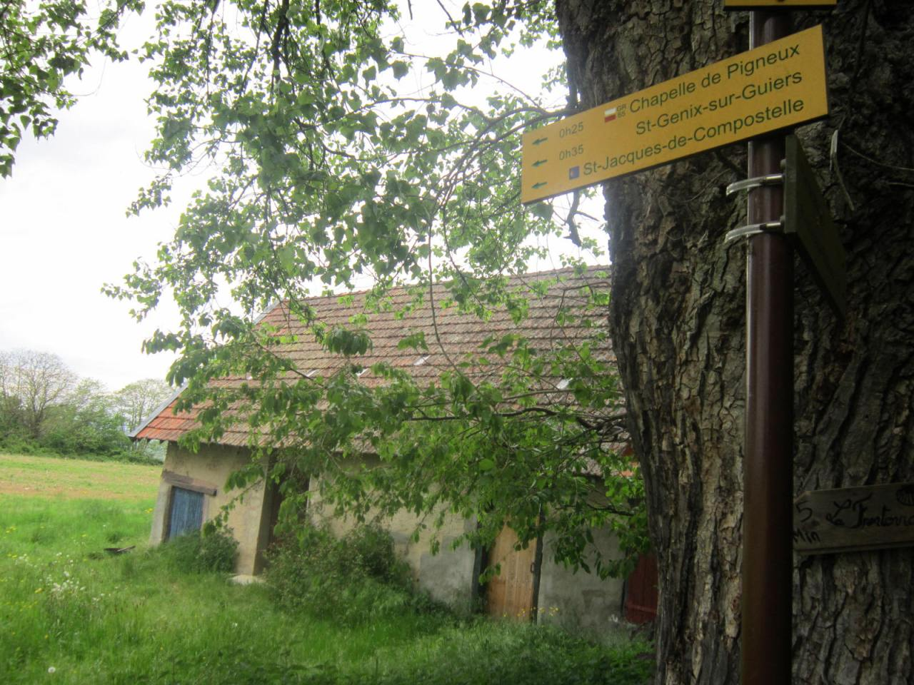 The (extremely) difficult walk to St-Genix-sur-Guiers