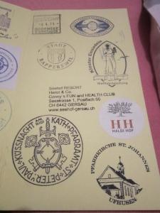 Ufhusen Pilgrim Stamp
