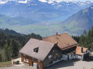 View from Haggenegg to Schwyz