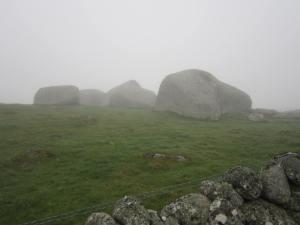 France granite rocks