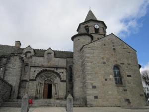 Nasbinals church