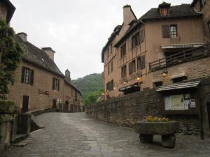 Pilgrim bridge Conques
