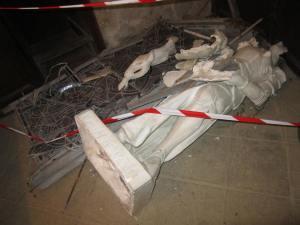 Statue Crime Scene