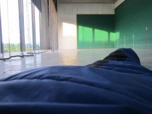 Sleeping outdoors on the Camino Santiago