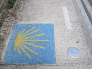 Pamplona-Camino-Sign