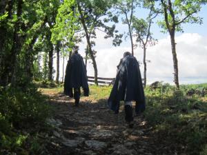 Pilgrims-in-the-rain