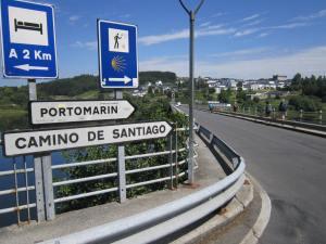 Arrival-to-Portomarin