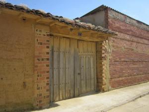 Meseta building adobe
