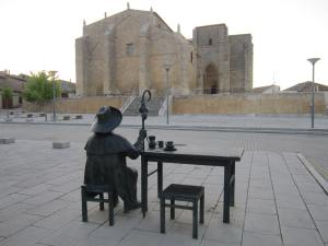 Pilgrim-breakfast-at-Villalcazar-de-Sirga